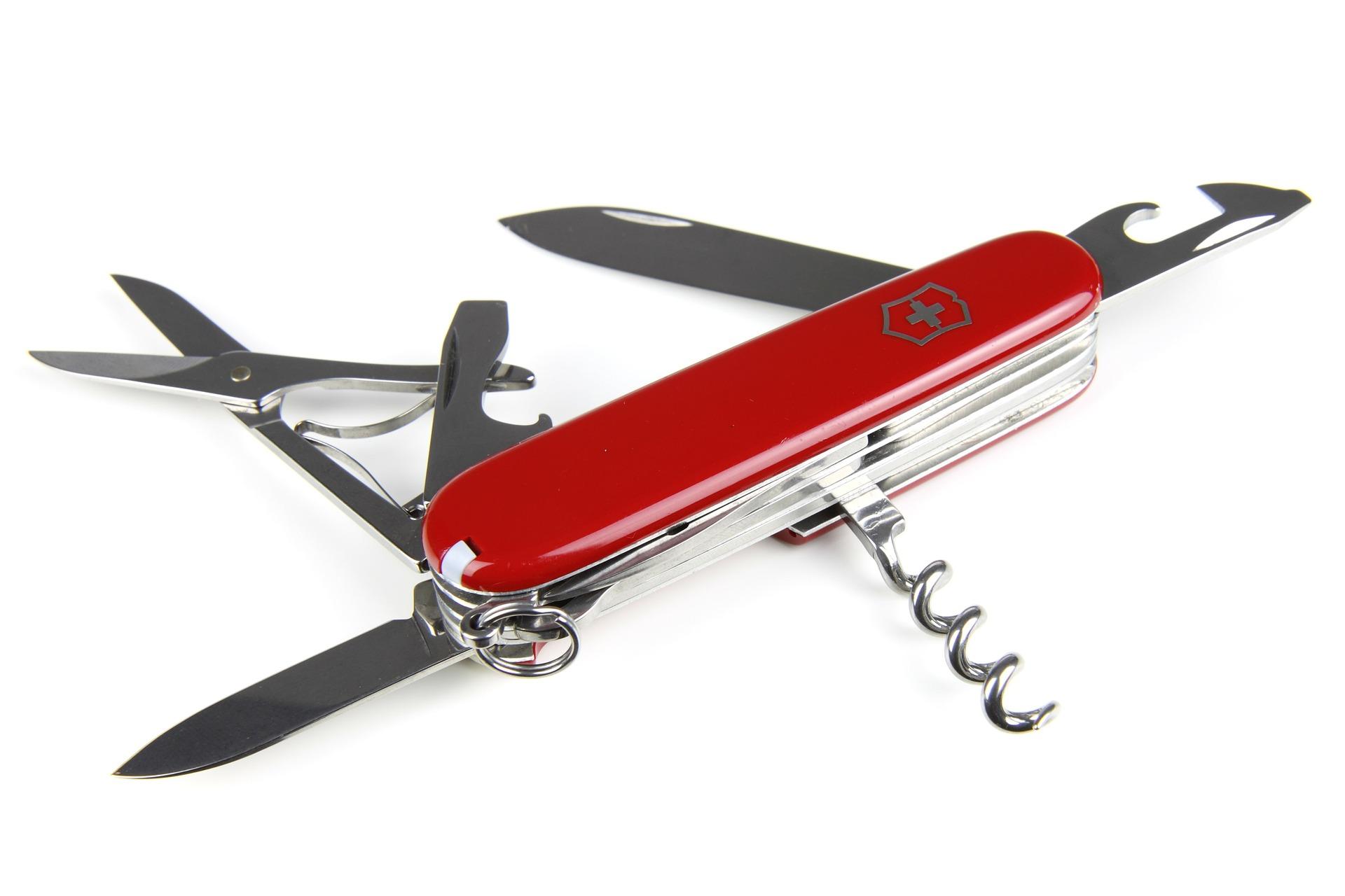 Le couteau suisse, un cadeau qui sort de l'ordinaire